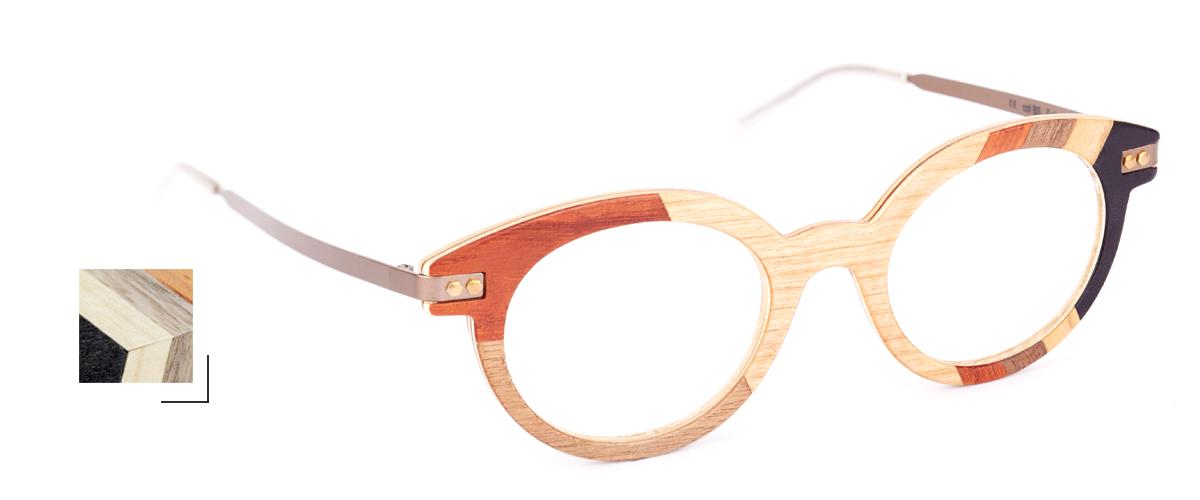 Collection Écorce - Optiques Justine