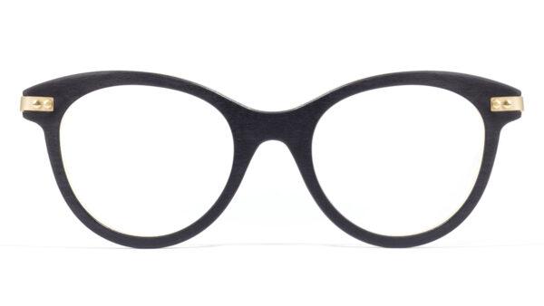 Collection Écorce - Optiques manon, essence tulipier noir - Visuel face
