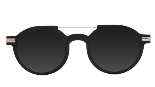 lunettes-solaires-hugo-mela-noir-face
